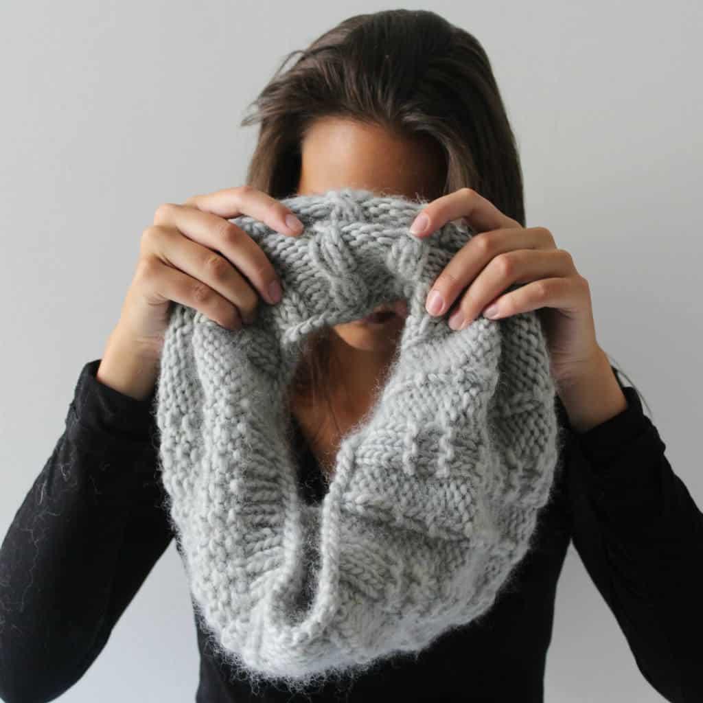 modèles tricot  snoods