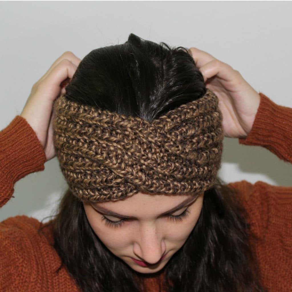 coupon de réduction véritable grand assortiment DIY Tricoter le Bandeau Headband croisé LMC