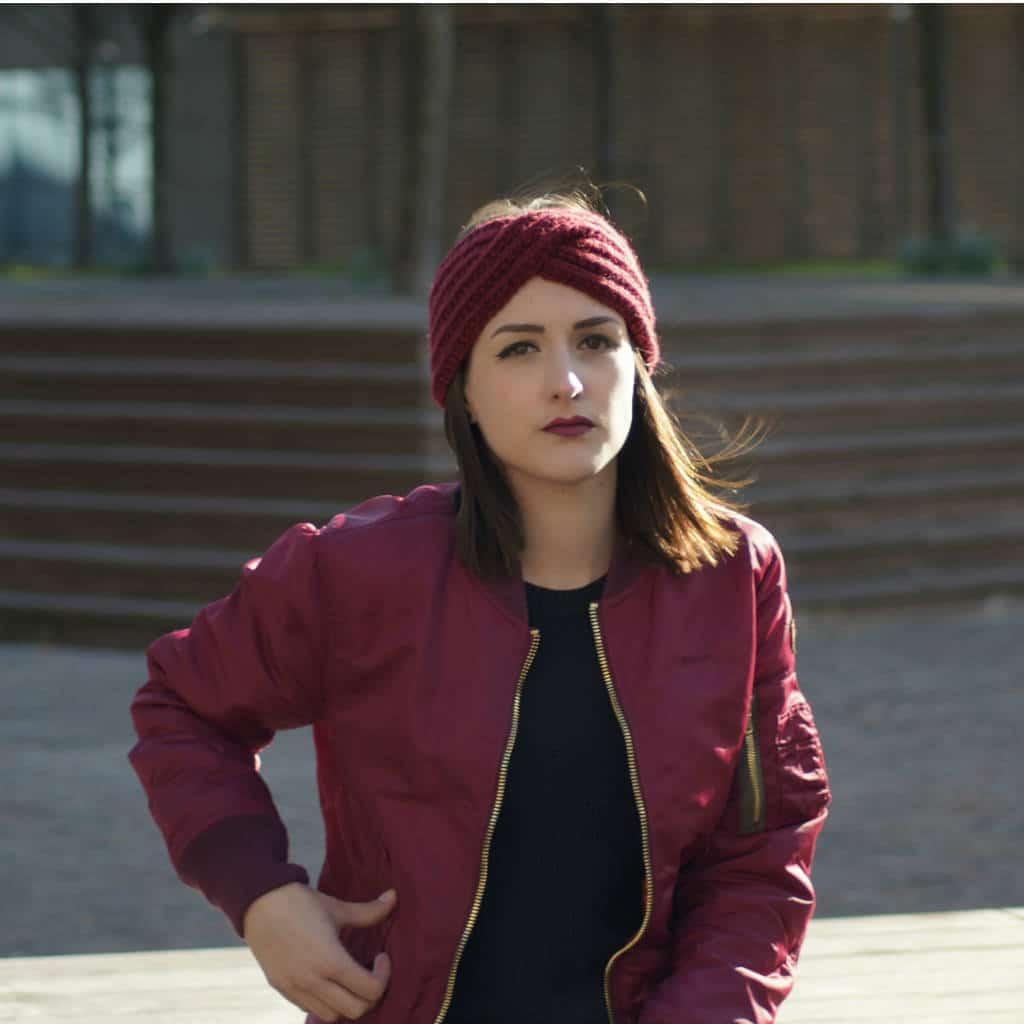 Bandeau Headband Croisé Lmc à Tricoter