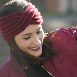 comment tricoter un bandeau en cotes