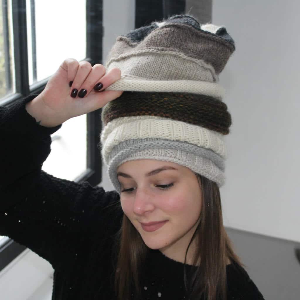 modèles tricot bonnets