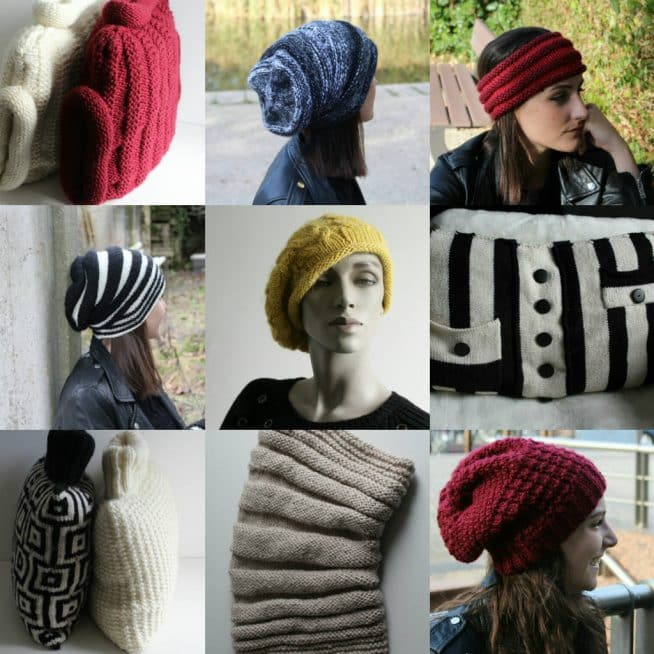 #tricoter ses cadeaux de nöel#bonnets#snoods#headbands#coussins
