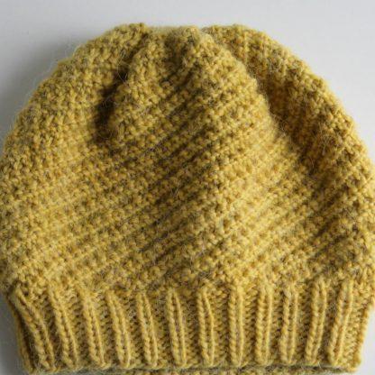 bonnet à tricoter avec un patron gratuit