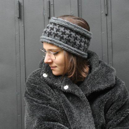 modèle de headband à télécharger pour le tricoter aiguille 6 #diy