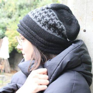 comment tricoter un bonnet slouchy avec une aiguille circulaire