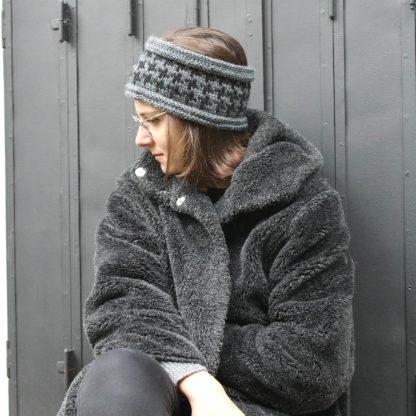 comment tricoter un headband bandeau avec un patron de tricot à télécharger