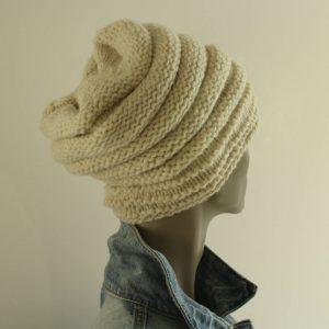 comment tricoter en rond un bonnet en rond avec une pure laine française issue des moutons Hampshire down