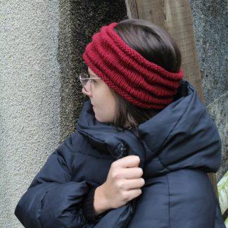 patron pour tricoter un headband avec une aiguille 5,5