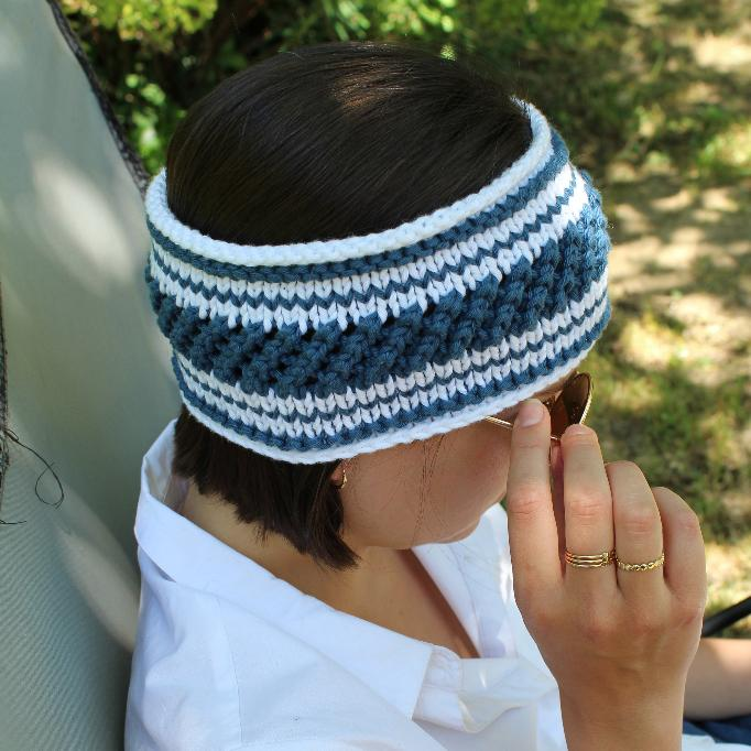 patron-tricoter-bandeau-turban-rayures-mariniere